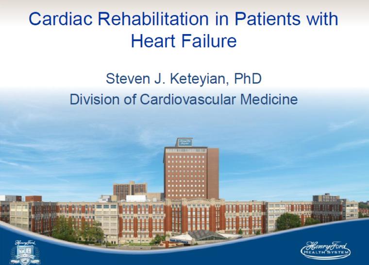 Henry Ford Health System – Cardiac Rehab